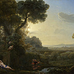 Part 2 National Gallery UK - Claude - Landscape with Narcissus and Echo