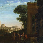 Part 2 National Gallery UK - Claude - A View in Rome