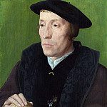 Part 2 National Gallery UK - Follower of Jan van Scorel - A Man with a Pansy and a Skull