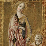 Part 2 National Gallery UK - Francesco di Giorgio - Saint Dorothy and the Infant Christ