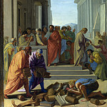 Part 2 National Gallery UK - Eustache Le Sueur - Saint Paul preaching at Ephesus