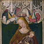 Part 2 National Gallery UK - Circle of the Master of Liesborn - The Virgin and Child with a Donor