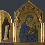 Part 2 National Gallery UK - Duccio - The Virgin and Child with Saints Dominic and Aurea