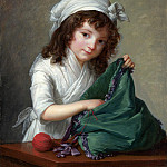 Part 2 National Gallery UK - Elizabeth Louise Vigee Le Brun - Mademoiselle Brongniart