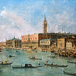 Part 2 National Gallery UK - Francesco Guardi - Venice - The Doge s Palace and the Molo