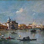 Part 2 National Gallery UK - Francesco Guardi - Venice - The Giudecca with the Zitelle