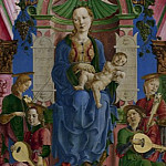 Part 2 National Gallery UK - Cosimo Tura - The Virgin and Child Enthroned