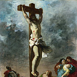Christ on the Cross, Ferdinand Victor Eugène Delacroix