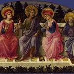 Part 2 National Gallery UK - Fra Filippo Lippi - Seven Saints