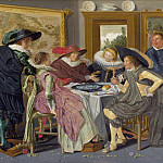 A Party at Table, Dirck Hals