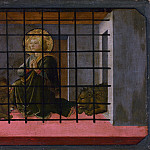 Saint Mamas in Prison thrown to the Lions, Fra Filippo Lippi