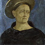 Part 2 National Gallery UK - Domenico Veneziano - Head of a Tonsured, Beardless Saint