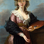Part 2 National Gallery UK - Elizabeth Louise Vigee Le Brun - Self Portrait in a Straw Hat
