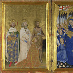 Part 2 National Gallery UK - English or French - The Wilton Diptych