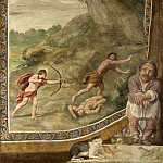 Domenichino and assistants – Apollo killing the Cyclops, Part 2 National Gallery UK