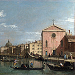 Part 2 National Gallery UK - Follower of Canaletto - Venice - The Grand Canal facing Santa Croce