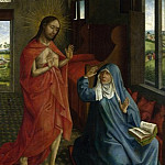 Christ appearing to the Virgin, Rogier Van Der Weyden
