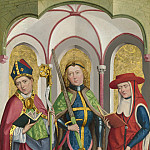 Part 2 National Gallery UK - Circle of the Master of Liesborn - Saints Ambrose, Exuperius and Jerome