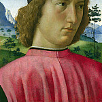 Part 2 National Gallery UK - Domenico Ghirlandaio - Portrait of a Young Man in Red