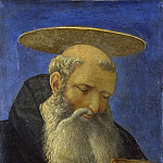 Part 2 National Gallery UK - Domenico Veneziano - Head of a Tonsured, Bearded Saint