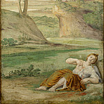 Domenichino and assistants – Apollo slaying Coronis, Part 2 National Gallery UK