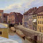The Friedrichs- gracht, Berlin, Eduard Gaertner