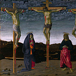 Francesco Botticini – The Crucifixion, Part 2 National Gallery UK