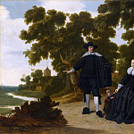 Part 2 National Gallery UK - G. Donck - Portrait of Jan van Hensbeeck, his Wife and a Child