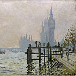 The Thames below Westminster, Claude Oscar Monet