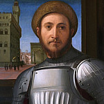 Part 2 National Gallery UK - Francesco Granacci - Portrait of a Man in Armour