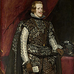 Part 2 National Gallery UK - Diego Velazquez - Philip IV of Spain in Brown and Silver