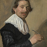 Part 2 National Gallery UK - Frans Hals - Portrait of Jean de la Chambre at the Age of 33