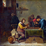 Part 2 National Gallery UK - David Teniers the Younger - Backgammon Players