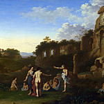 Part 2 National Gallery UK - Cornelis van Poelenburgh - Women bathing in a Landscape
