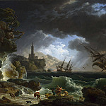 Part 2 National Gallery UK - Claude-Joseph Vernet - A Shipwreck in Stormy Seas