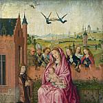 Part 2 National Gallery UK - Follower of Lieven van Lathem - The Virgin and Child with Saints and Donor