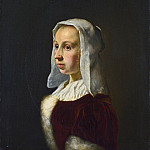 Part 2 National Gallery UK - Frans van Mieris the Elder - Portrait of the Artist s Wife, Cunera van der Cock