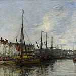 Eugene Boudin – Brussels Harbour, Part 2 National Gallery UK
