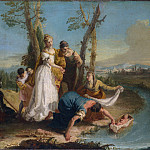 Part 2 National Gallery UK - Francesco Zugno - The Finding of Moses
