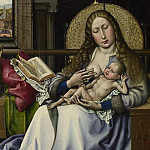 Part 2 National Gallery UK - Follower of Robert Campin - The Virgin and Child before a Firescreen