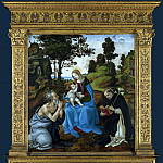 The Virgin and Child with Saints Jerome and Dominic, Filippino Lippi