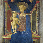Part 2 National Gallery UK - Domenico Veneziano - The Virgin and Child Enthroned