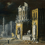 Part 2 National Gallery UK - Francois de Nome - Fantastic Ruins with Saint Augustine and the Child