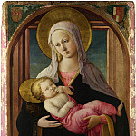 Fra Filippo Lippi and workshop – The Virgin and Child, Part 2 National Gallery UK