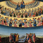 Part 2 National Gallery UK - Francesco Botticini - The Assumption of the Virgin