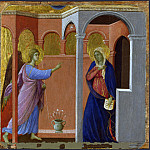 Part 2 National Gallery UK - Duccio - The Annunciation