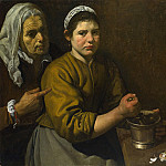 Part 2 National Gallery UK - Diego Velazquez - Christ in the House of Martha and Mary