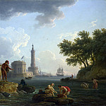 Part 2 National Gallery UK - Claude-Joseph Vernet - A Sea-Shore