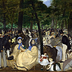 Part 2 National Gallery UK - Edouard Manet - Music in the Tuileries Gardens