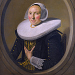Part 2 National Gallery UK - Frans Hals - Portrait of a Woman (Marie Larp)